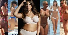 Wide extreme curves naked celebrities