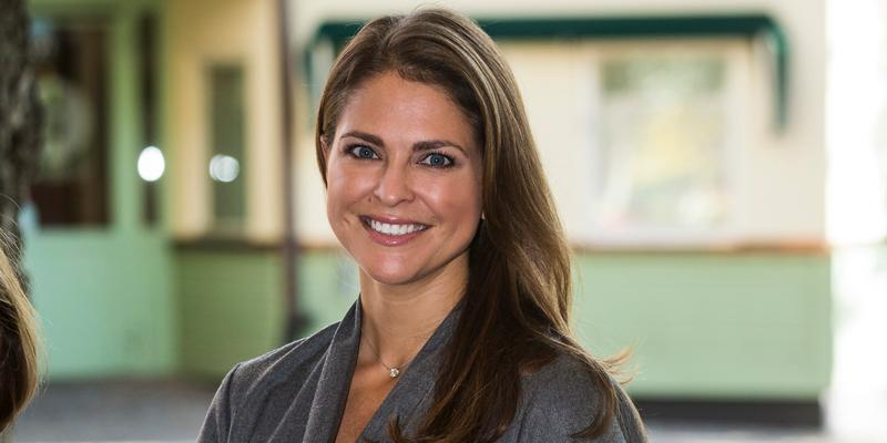 Princess Madeleine of Sweden Attends Foundation My Great Day Seminar 'The Invisibility Project'