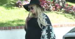 Exclusive… Jessica Simpson & Family Attend A Birthday Party