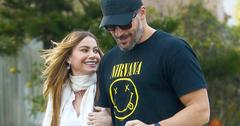 *EXCLUSIVE* Engaged couple Sofia Vergara and Joe Manganiello are happy as can be