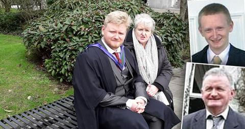 Mark O'Sullivan and his Mother Anne