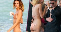 robin thicke april geary beach bikini bodies