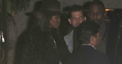 Naomi campbell dating idris elba photos leaving 1oak 8