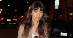 Jessica Biel Restaurant Au Fudge No Makeup Justin Timberlake Long
