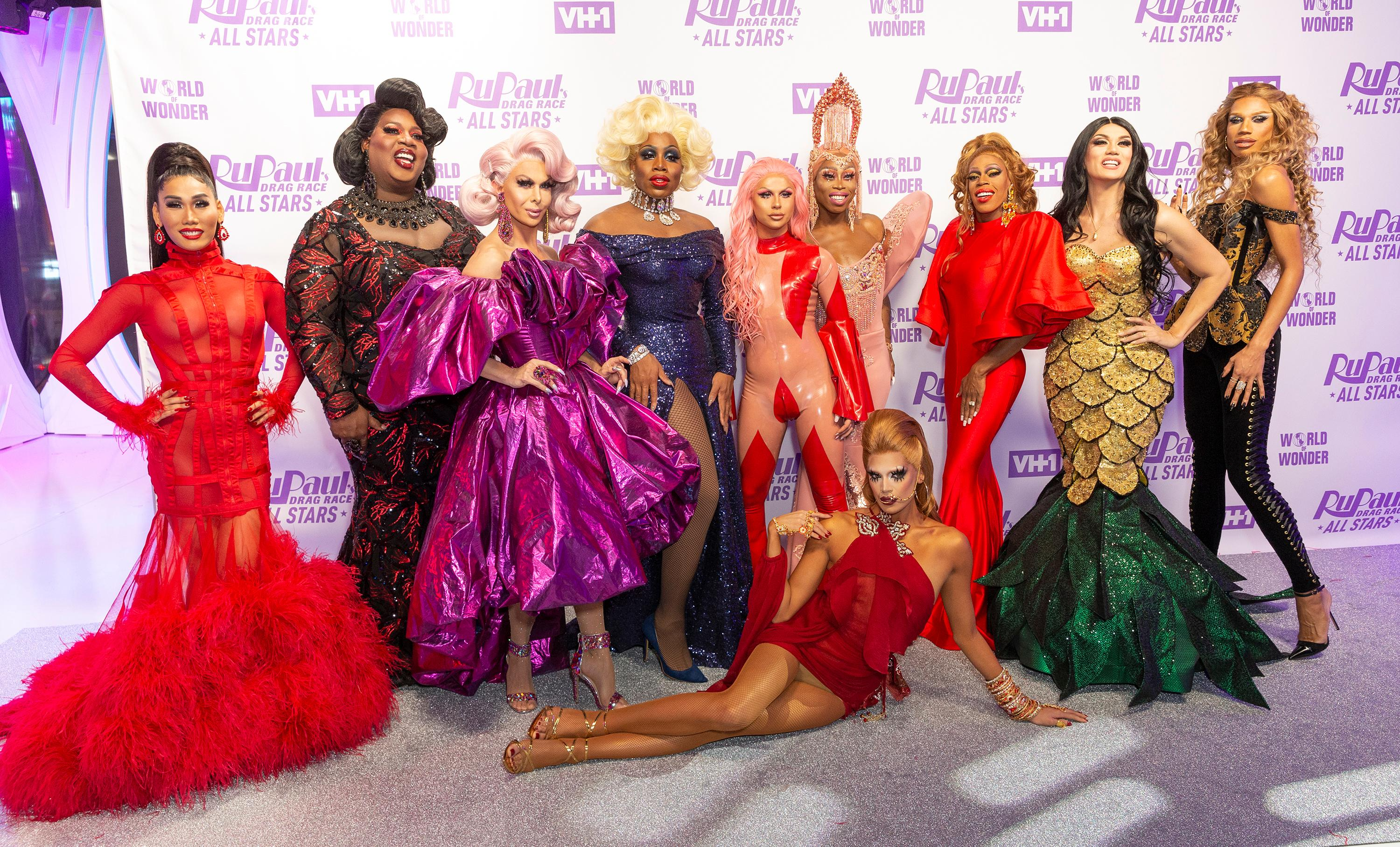 Contestants attend Meet the Queens of RuPaul's Drag Race All