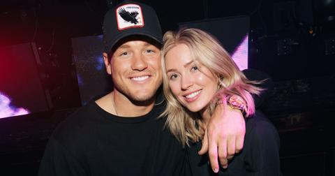Colton Underwood and Cassie Randolph at JEWEL Nightclub in Las Vegas on Saturday, April 6_Photo Credit Wolf Productions PP