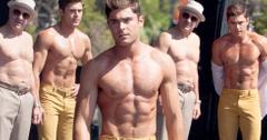 Zac efron shirtless muscles robert deniro bad grandpa