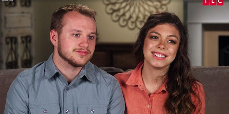 Counting on josiah duggar wife lauren wedding dress shops with dad pp