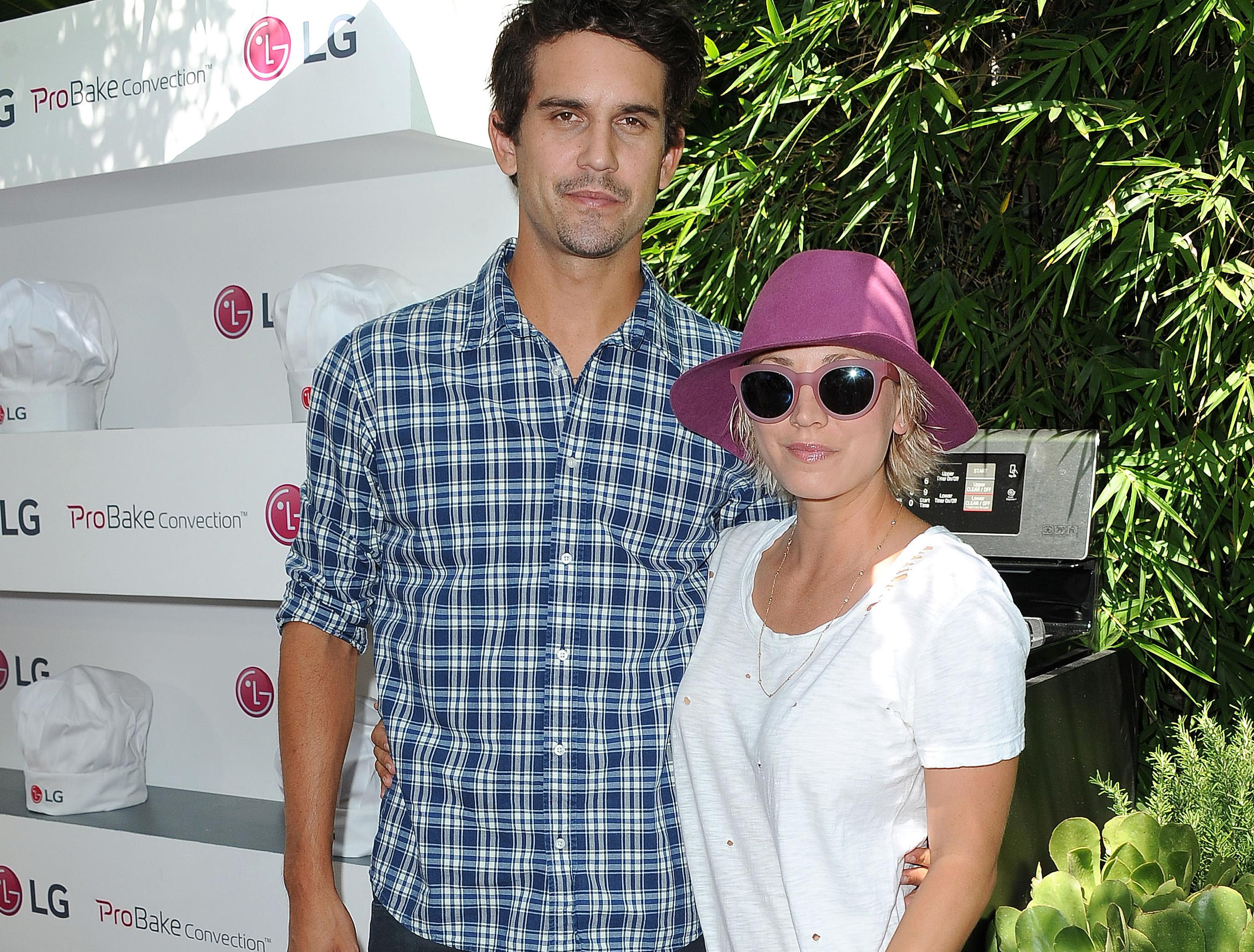 Ryan Sweeting and Kaley Cuoco at the LG Fam to Table Series: ProBake Edition Event