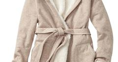 GapCozy Sherpa Lined Robe $64.95www.Gap.com