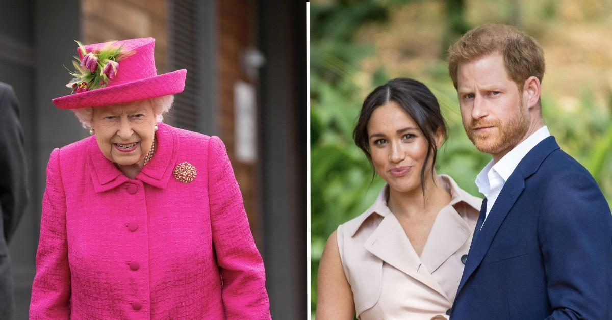 the queen prince harry meghan markle tell all interview