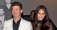 Robin Thicke and April Love Geary are expecting their third child.