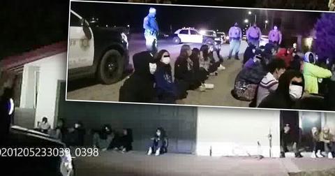 Sex Trafficking Victim Rescued At CA 'Superspreader Event', 158 Arrested
