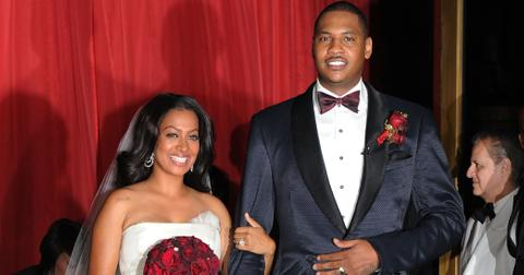 Guests Attend La La Vasquez & Carmelo Anthony's Wedding