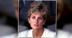 Princess Diana Wearing White Suit in Zimbawe 1993