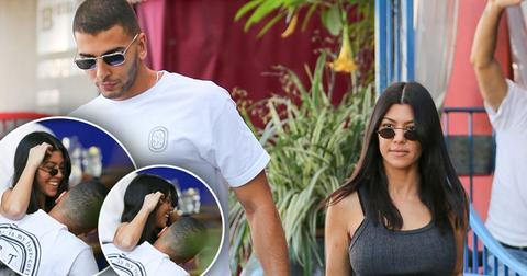 Kourtney Kardashian Younes Bendjima PDA