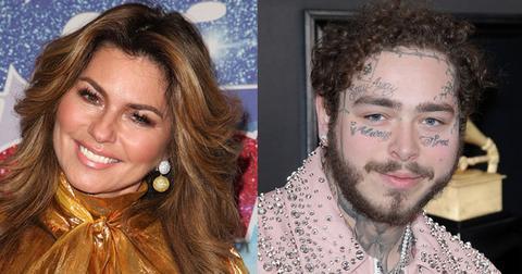 Shania Twain Flirty Comment Post Malone