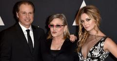 Billie Lourd Uncle Todd Carrie Fisher Debbie Reynolds Long