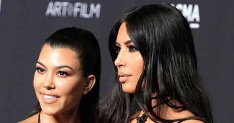 Kim Kardashian Says Kourtney Has Been Photographed With New Boyfriend & Won't Say His Name