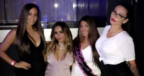 Jersey Shore Reunion Cast Deena Cortese Wedding Pics Long