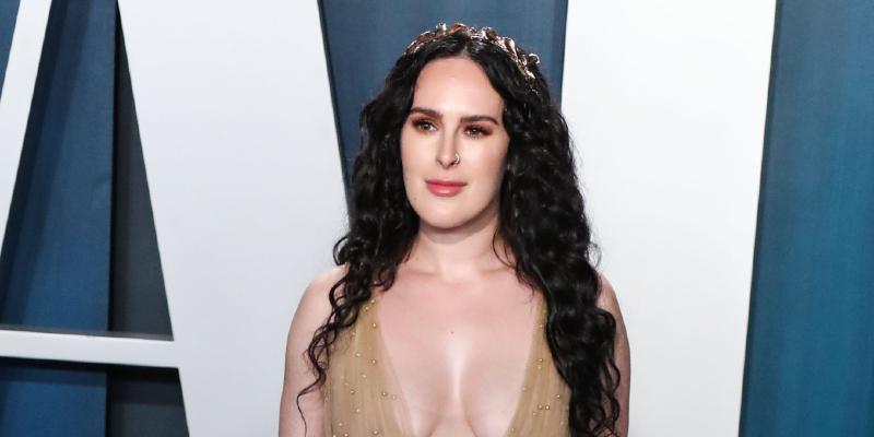 Rumer Willis at 2020 Vanity Fair Oscar Party