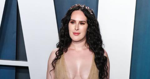 Rumer Willis at 2020 Vanity Fair Oscar Party