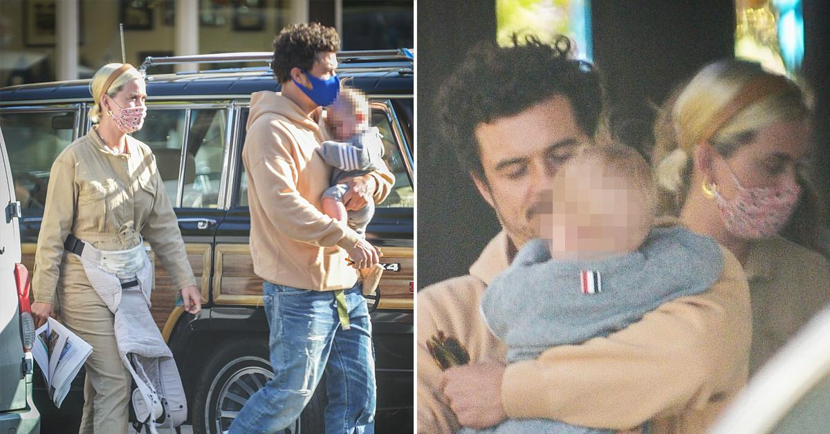 katy perry and orlando bloom have a family outing on katys first mothers day weekend ok
