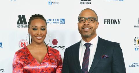 Cynthia Bailey And Mike Hill On Red Carpet