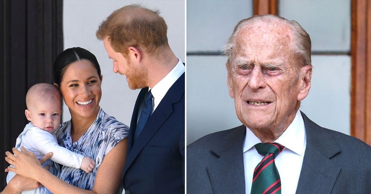 Shading Harry & Meghan? Prince Philip Says It's 'Impossible' to Give Royal Children a 'Normal' Childhood