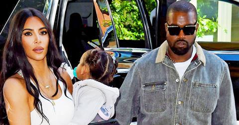 Kim Kardashian Kanye West Kids NYC