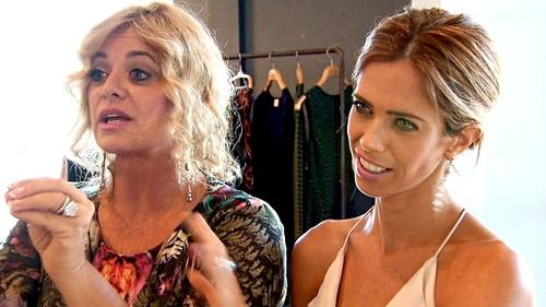 Lydia McLaughlin and her mom