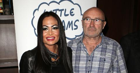Singer Phil Collins And His Ex-Wife Orianne Collins Are Seen Together For The First Time Since He Announced They Were Back Together