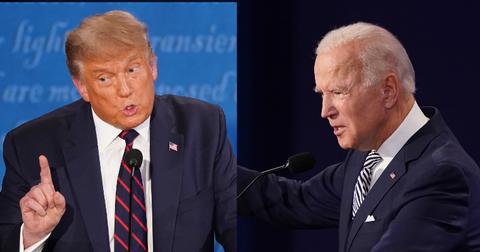 Donald Trump Joe Biden Presidential Debate