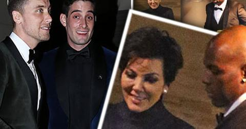 Kris jenner corey gamble lance bass wedding