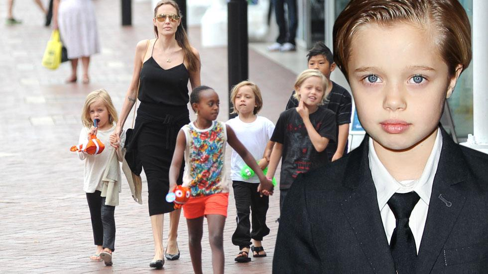 Shiloh jolie pitt boy gender angelina brad siblings