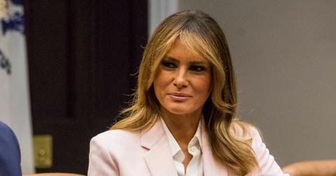 first lady melania trump farewell message joe biden inauguration president