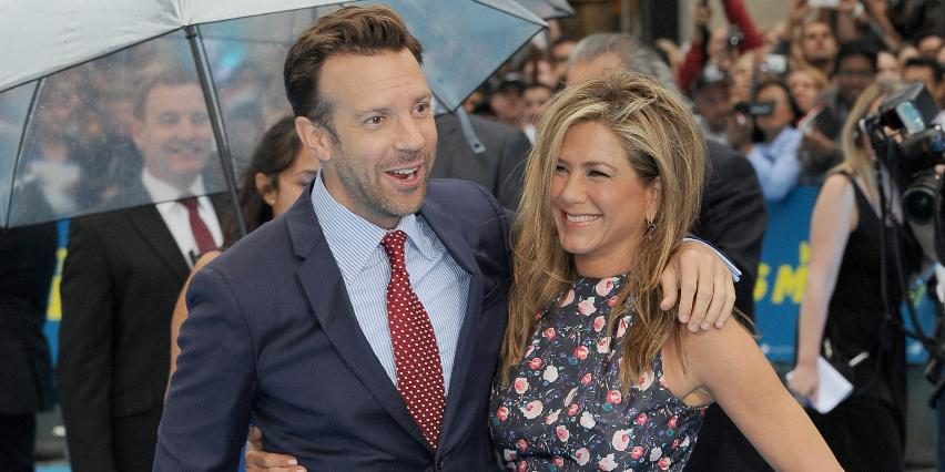 Jason Sudeikis and Jennifer Aniston
