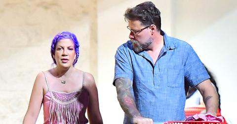 Tori Spelling Financial Problems Target Photos Long