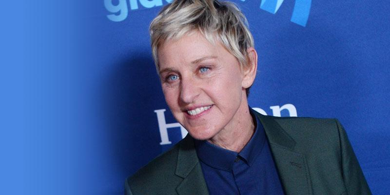 //ellen degeneres claims shes introverted after crazy no eye contact rule