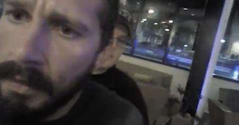 Shia labeouf arrested video
