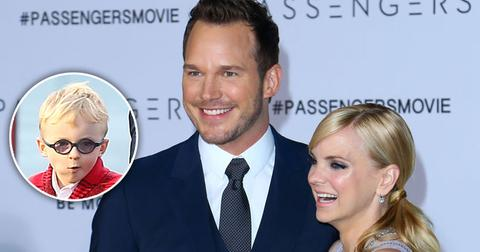 chris pratt anna faris son jack passengers long