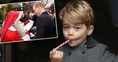 Prince William Meets Santa Adorable Prince George Christmas List