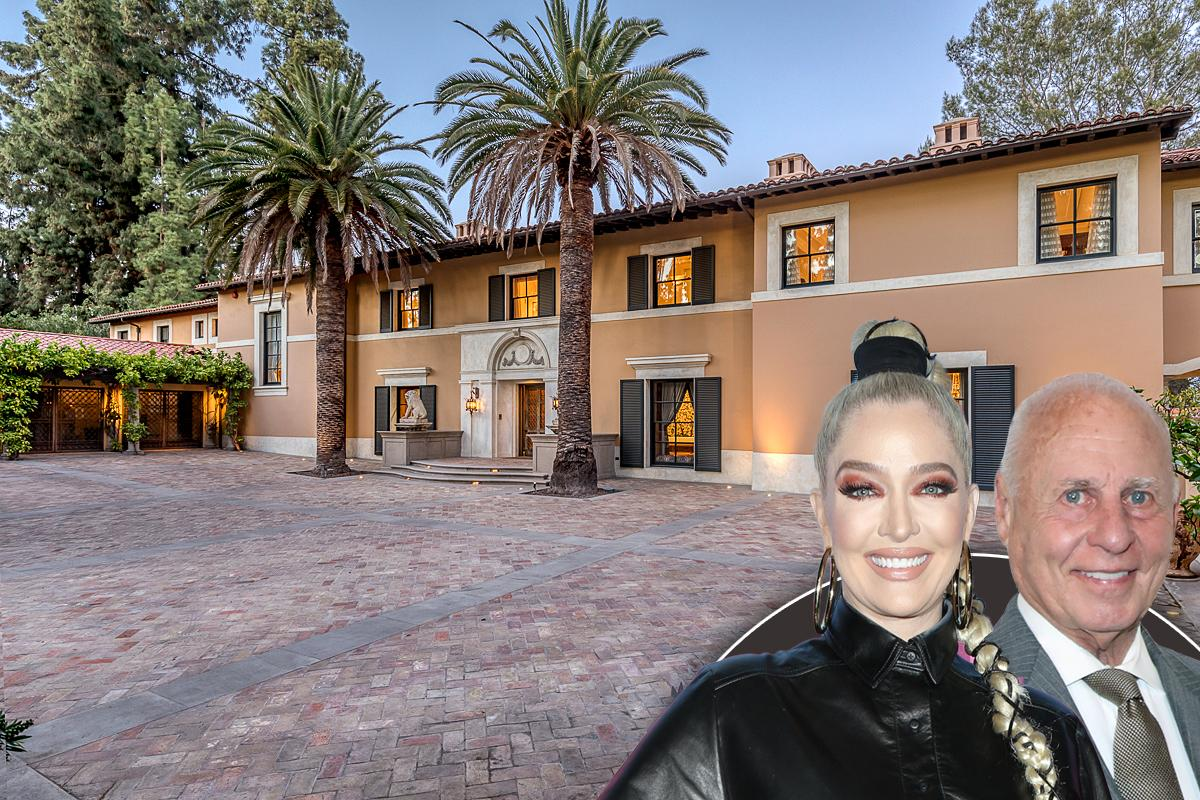 erika jayne and tom girardi list their pasadena mansion for  million