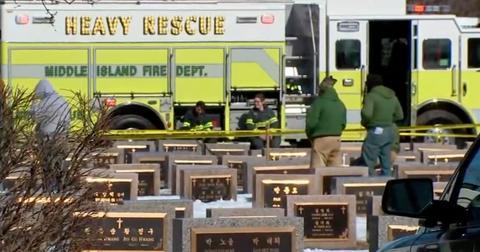 li cemetery worker dead grave collapse