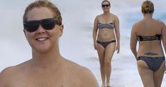 Amy Schumer Strapless Bikini Body Hawaii