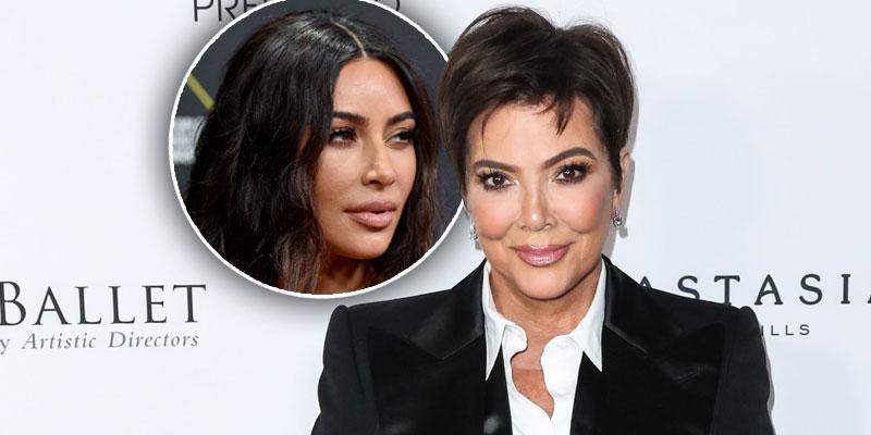 Kim Kardashian Shares Stunning Photo Of Kris Jenner For Her 65th B-Day
