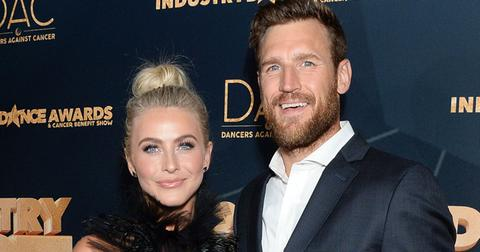 Julianne Hough Brooks Laich Reunite PP