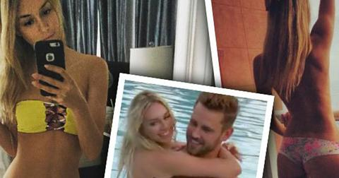 Corinne olympios bachelor villain most naked instgram moments topless villain nick viall hero