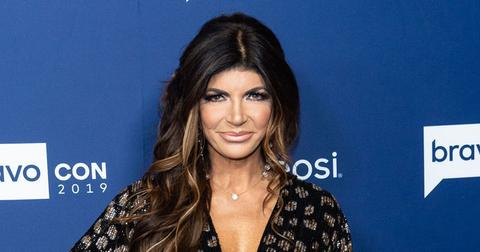 Teresa Giudice On Red Carpet