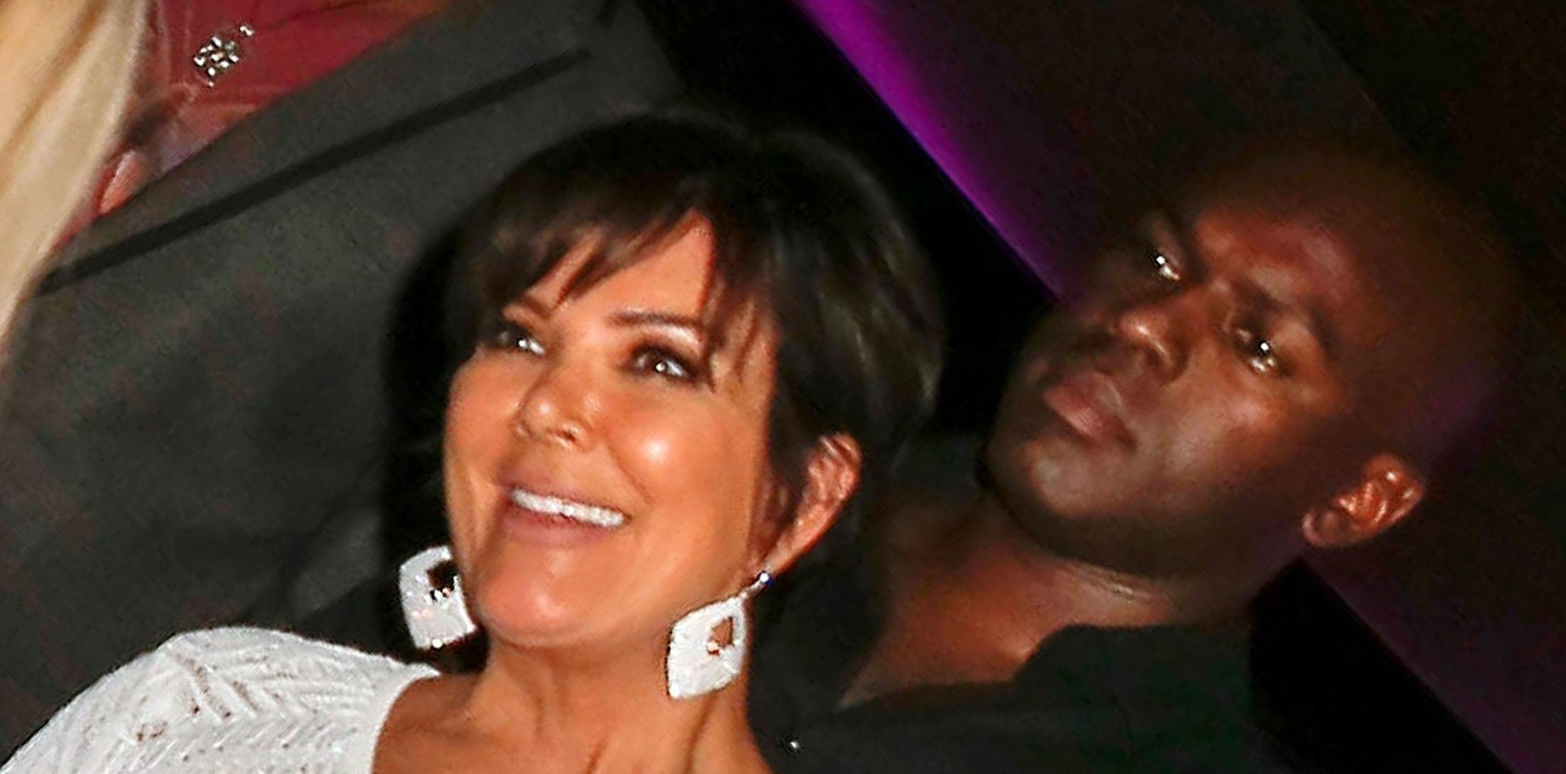 *EXCLUSIVE* Kris Jenner and Corey Gamble have a dinner date at Opera restaurant in Saint Tropez